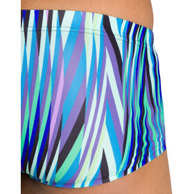 arena Speed Stripes Short taille basse Homme, black/multi green